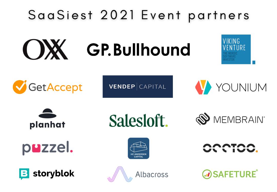 SaaSiest 2021 Event Partners